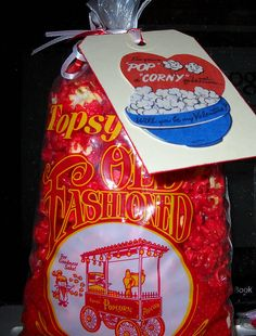 Topsy's Cinnamon Popcorn THE BEST!  #Thebestpopcorn #poosidesnack