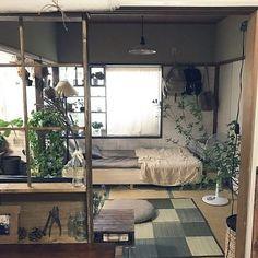 Dream Apartment, Apartment Interior, Apartment Living, Japanese Home Design, Japanese Interior, Japanese Apartment, Lofts, Cosy Room, Minimalist Room