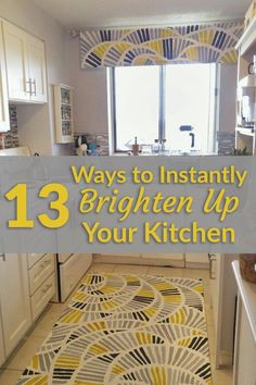 13 Ways to Instantly Brighten up a Boring Kitchen