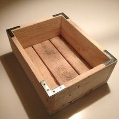 Wooden pallet box #woodenpalletfurniture