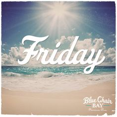 Friday!!! At last...