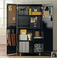 Jc Penny Storage Unit Woudl Make A Great Hidden Home Office On Main Floor