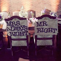 funny chair signs