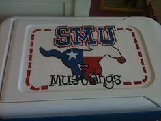 SMU cooler with Texas Pony Cooler Painting, Sorority Crafts, Chi Omega, Make Your Mark, Image Search, Painted Coolers, Pony, Hold On, Just For You