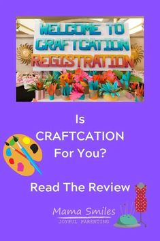 If you're looking for an inspiring craft conference, definitely look into Craftcation! I've been to a few conferences now, and this is a clear favorite. Read why Quiet Time Activities, Educational Activities For Kids, Outdoor Activities For Kids, Toddler Activities, Learning Activities, Preschool Activities, Crafts For Kids, Rainy Day Fun, Toddler Play