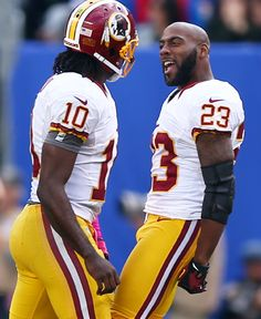 DeAngelo Hall and RG3