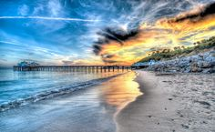 https://flic.kr/p/fLnGbr | High Dynamic Range (HDR) Landscapes of the Malibu Pier Shot With Nikon D3X | High Dynamic Range (HDR) Landscapes of the Malibu Pier Shot With Nikon D3X Finished in photomatix! Seven exposures at 1EV intervals! The storm clouds were breaking that evening, and the wind kicked up! Had to put on two hoodies to catch the brilliant Malibu sunset. Was using the 14-24 mm 2.8 wide angle Nikor Nikon lens! Amazining lens! Scenic HDR California Landscape Photography Some of…
