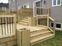 Multi-stage Patios – Wood Patio - All About Patio Plans, Pergola Plans, Pergola Kits, Backyard Patio Designs, Backyard Pergola, Pergola Roof, Cheap Pergola, Patio Bar, Wood Patio