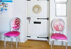 Resultado de imagem para como reformar cadeiras antigas