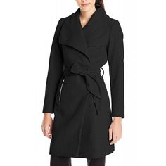 Vero Moda Women's VM Kate Daisy Jacket A Noos, Black, Medium ❤ Vero Moda Women's Contemporary Sportswear Sportswear, Wrap Dress, Fashion Outfits, Coat, Casual, Jackets, Contemporary, Clothes, Medium