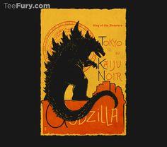 """""""Gojira Noir"""" by thedarkcloak!"""