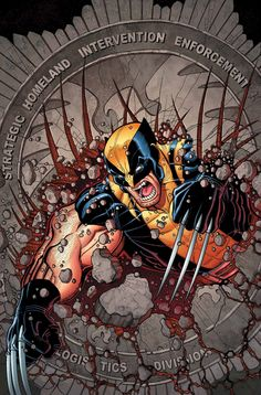 The Paperback of the Wolverine & the X-Men by Jason Aaron Volume 8 by Jason Aaron, Nick Bradshaw, Pepe Larraz Wolverine Comics, Marvel Comics, Logan Wolverine, Marvel Fan, Marvel Heroes, Comic Book Covers, Comic Book Heroes, Comic Books Art, Comic Art