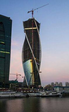 Evolution Tower, Moscow- Russia
