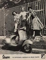 Vespa -pubblicità (1958)