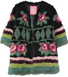 ShopStyle: Manoush Printed rabbit jacket