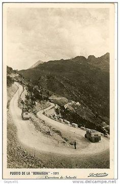 Carretera del Port de la Bonaigua.  Núm. 5375. Puerto de la Bonaigua. Carretera de Salardú.  Zerkowitz