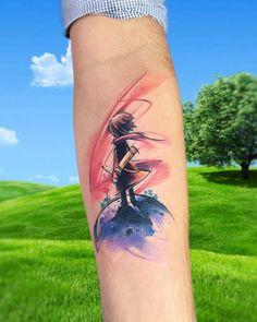 Tatuaje inspirado en El Principito situado en el interior del antebrazo.