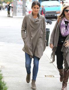 Nikki Reed/ sweater jacket!