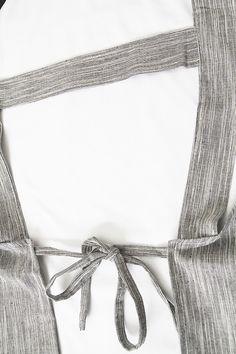Linen Cocina Apron Linen Apron, Back Strap, Belt, Stylish, Belts