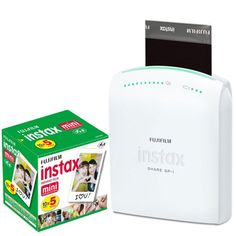 #checkitout Printer for Instax SHARE app and Instax Film. You can take photos by smartphone, and print them by this. this PHOTO4LESS comes with #Fujifilm Instax ...