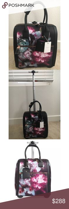 Ted Baker Ethereal Posie Travel Bag Brand new, authentic & beautiful! Perfect as a carry on for the plane! Ted Baker London Bags Travel Bags