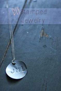 DIY Stamped Metal Jewelry - Create Blank Charms From Recycled Aluminum Cans - Tutorial