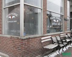 Leslieville - Sage Real Estate Ltd. Espresso Bar, Maple Tree, Famous Landmarks, Dark Horse, Toronto, The Neighbourhood, Real Estate, Horses, Explore