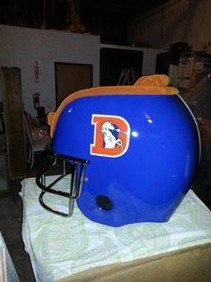 Denver Broncos Helmet chair | the Denver Broncos Collectionary