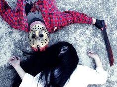 Jason Vs Sadako by HellishBoy on DeviantArt Camera Obscura, Crocs, Deviantart, Paradise, Halloween, Google Search, Fashion, Friday The 13th, Moda