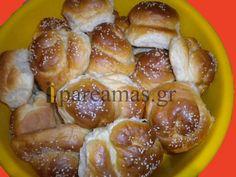 Τα εύκολα τσουρεκάκια της Δάφνης! Greek Sweets, Greek Desserts, Greek Recipes, Cypriot Food, Pretzel Bites, Cooking Time, Biscotti, Dairy Free, Goodies