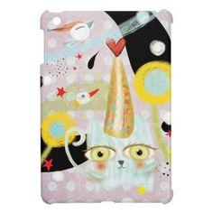かわいい猫のかわいい iPad Mini ケース。 #zazzle #猫