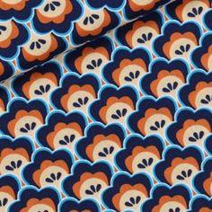 Soft Cactus   Seashore Shelly - M - Diepblauw   www.stoffenmie.be