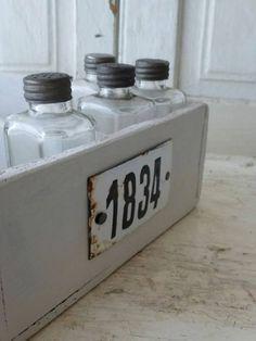 ☆ Brocante, déco vintage industrielle brocante campagne plaque émaillée
