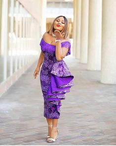 Today we've rounded up some gorgeous ankara dress styles. Hope you find something to inspire your next ankara dress. Ankara style with the lace Asoebi. Check out the one-sleeve best Ankara dress Nini rocked, it has such breeding and class. Ankara Dress Styles, Lace Dress Styles, African Fashion Ankara, Latest African Fashion Dresses, African Dresses For Women, African Print Fashion, African Attire, Kente Styles, Ankara Tops
