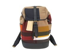#Burberry ML Drifton Backpack Cotton/Leather Multicolor 4013275 (BF302726) All of #eLADY's items are inspected carefully by expert authenticators who have years of experience. For more pre-owned luxury brand items, visit http://global.elady.com