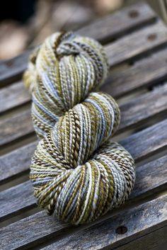 Yarn or a Tale/Merino/April Morn Spinning Wool, Hand Spinning, Spinning Wheels, Crochet Yarn, Knitting Yarn, Yarn Inspiration, Yarn Stash, Textiles, Hand Dyed Yarn