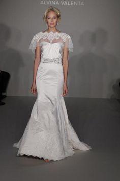 Alvina Valenta Gown | The White Dress