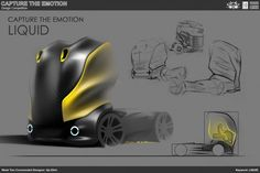 'Liquid' truck concept / Ilja Elkin