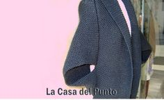 Chaqueta japonesa de punto: Patron. Knitted pattern for Japanese jacket