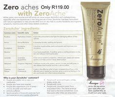 Annique's ZeroAche - herbal pain relief cream......all natural!