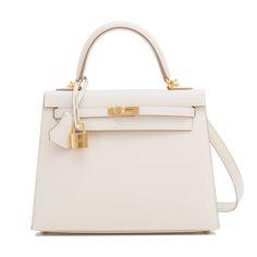 15157384d28a  Hermes  Kelly  Bag Craie Epsom Gold Hardware Hermes Kelly 25, Kelly Bag