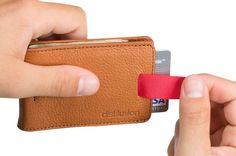 Bifold Wallet | Mens Leather Bifold Wally Slim Wallet | Distil Union