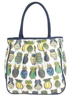Owl the Better Bag, #ModCloth