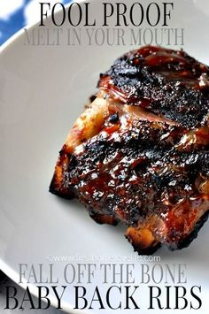 Crockpot Fool-Proof {Fall Off The Bone} BBQ Ribs recipe