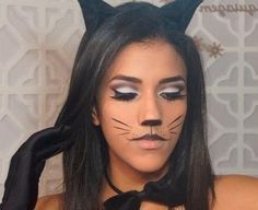 A fantasia de mulher gato é bem simples de montar e uma gracinha ;) #fantasias #carnaval