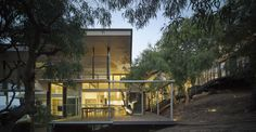 Completed in 2013 in Australia. Images by Christopher Frederick Jones. The Red Rock Beach House at Sunrise at 1770 is carefully nestled into its' natural coastal landscape. Significant trees have been mapped and take...