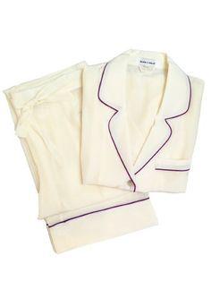 Olivia von Halle - Coco Ivory PJ Set  #OliviaVonHalle #Pajamas #GiftGuide