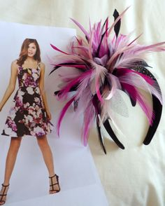 Need a fascinator to match your dress??