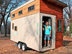 Joel Weber calls building a tiny house one of the best investments he's ever made.