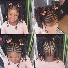 Black Braids are now popular and you can look roughly at every the interchange styles, shapes, and cuts for black hair and later possibly print a describe or two for you to use. Black Braids If you think you have found the right photo, assume a portray of Little Girl Braid Styles, Kid Braid Styles, Little Girl Braids, Black Girl Braids, Braids For Kids, Girls Braids, Girl Short Hair, Children Braids, Toddler Braids